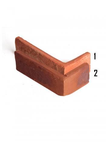 Rohový kus - tehlový obklad Rustik KD12
