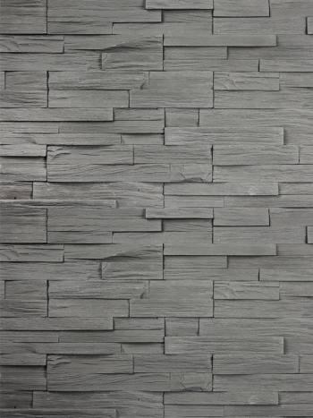 Kameň Bridlica KRX F08 šedo čierna 34,5x8,5cm - umelý kameň